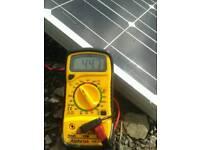 New solar panels.