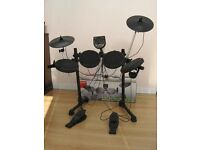 Electric drum kit.