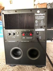 Paradigm PDR-8 v3 Powered Subwoofer - MINT condition