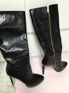 Michael Kors Black Boots. Size 9. Almost New