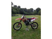 honda crf 450 r 450r 2008