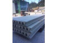 Concrete 8ft reinforced posts