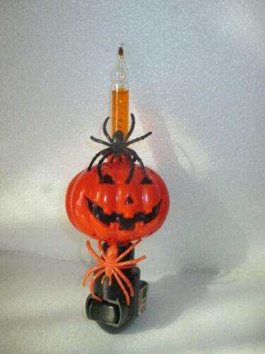 Halloween Bubble Light Nightlight. On/Off Switch. Black / Orange