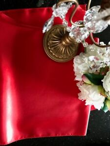 Red Wedding or Event Table Linens for sale