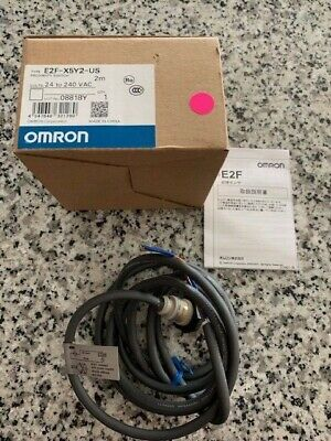 New Omron E2f-x5y2-us Proximity Sensorinductive. E2f-x5y2-us Free Shipping