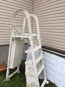 Pool stairs for a swimming pool - only $75