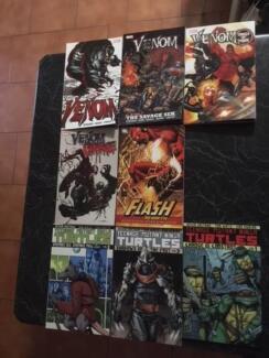 Trade Paper Back Comics books (Venom, TMNT, Flash) TPB!!!!