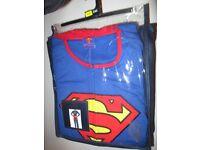 Superman All in One Costume Pyjamas Valentine