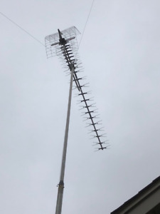 OUTDOOR TELEVISION AERIAL