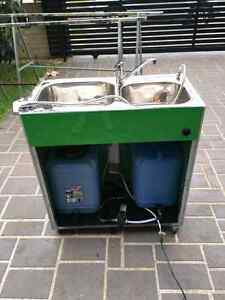 Mobile light weight steel sink for dood kiosk ancouncil approved Merrylands Parramatta Area Preview