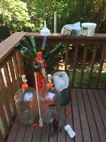 Complete winemaking setup