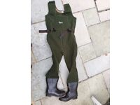 Orvis Large Men's Boot-foot Neopreme Waders. Good condition. £20
