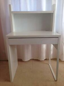 Ikea Micke Desk White Cherrybrook Hornsby Area Preview