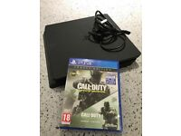 Nearly New PS4 with one Game