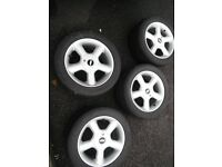 "TSW 16"" ALLOY WHEELS STUNNING CONDITION"