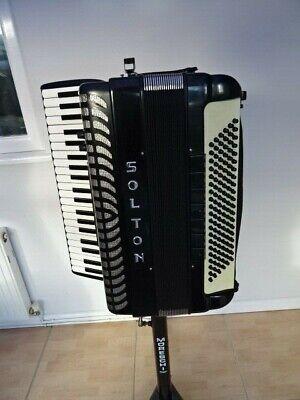 Solton 4 Voice 41 treble 120 Bass Midi Accordion