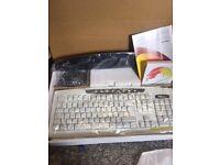 Wireless keyboard & mouse sets £5 each