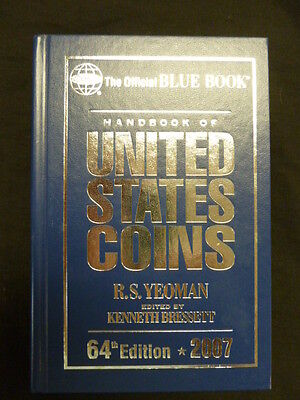 Whitman Blue Book US Coins Hard Cover 2007