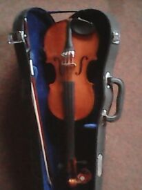 2 small violins- suitable for young beginners