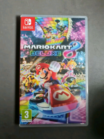 Super mario kart 8 delux Nintendo Switch new and sealed