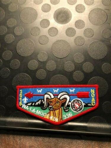 OA WA-LA-MOOT-KIN LODGE 336 1915-2015 NOAC 100th ANN FLAP
