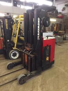 Raymond Model 20 4000lb cap. Reach Forklift.