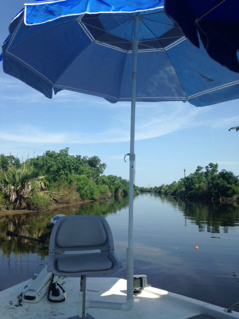 Ultra Boat Seat Umbrella or Fishing Rod Holder  river catfish freshwater fish