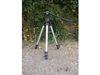 Manfrotto Professional Tripod with fluid filled head.