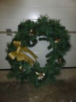 Christmas holiday wreaths - lots of different sizes