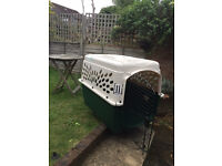 Very Large Dog Crate - Used once! Pet Carrier - Airline approved