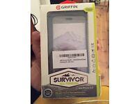 "iPhone 5.5"" Griffin Survivor All-Terrain Case. Military standard iPhone case unused"
