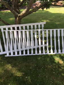 WOOD RAILING FOR OUTDOORS