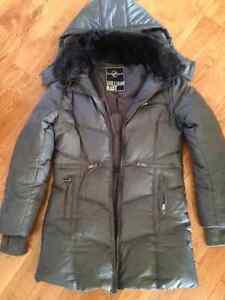 NEW PRICE! William Rast Gray Down jacket- size medium Kingston Kingston Area image 1