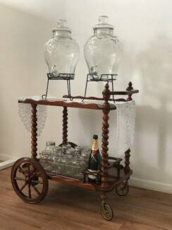 Antique drinks or favours trolley (for hire only) Bundall Gold Coast City Preview