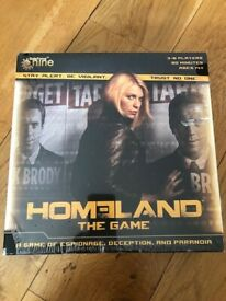 Homeland Board Game. New and sealed. Collect Fulham