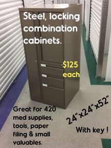 STEEL, LOCKING MULTI USE-CABINETS FOR OFFICE, HOME, WORKSHOPS