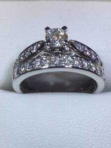 BRIDAL SET 18 CT WHITE GOLD BRAND NEW MICHAEL HILL Scarborough Stirling Area Preview
