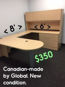 DEALS,OFFICE DESK SUITES, CHAIRS, FILE CABINETS, STORAGE CABINET