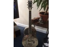 vintage tri cone resonator guitar