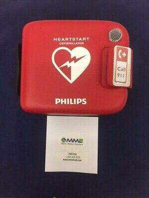 Philips Heartstart Frx Aed W Case Battery And Pads 7 Year Warranty - 861304