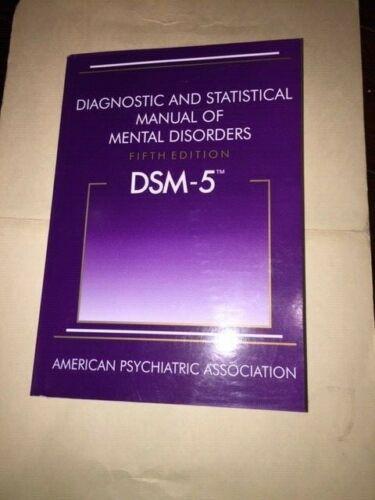 Diagnostic and Statistical Manual of Mental Disorders - DSM-5