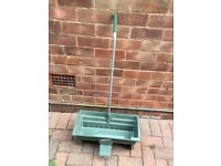 Fisons seed and fertiliser spreader, nearly new