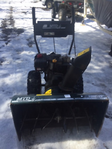 """MTD Snow Blower  29"""" 10 HP - Great Condition!"""