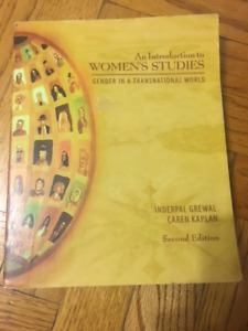 Introduction to Womens Studies Gender in a Transnational World