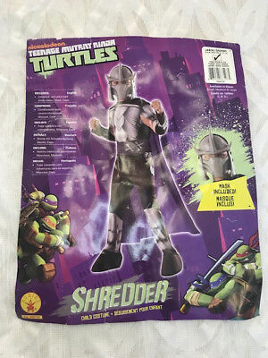 Shredder - Child Costume - Teenage Mutant Ninja Turtles size 14 Boys