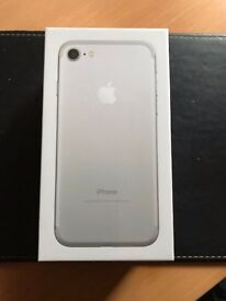 Apple iPhone 7 - 32 GB, Silver,New, Unopened