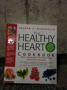 THE HEALTHY HEART COOKBOOK HARDCOVER BY JOSEPH PISCATELLA NEW London Ontario image 1