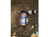 Shurflo water pump (used for pole fed window cleaning) £40