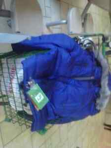SAVE NOW $$$ ON BRAND (2) NEW BLUE DOWN JACKETS Kitchener / Waterloo Kitchener Area image 1