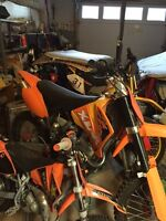 250cc 4 stroke, Kick and electric start, great condition
